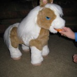 baby butterscotch pony from hasbro and furreal