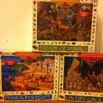 Pieces of history puzzle from Find It Games