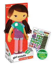 yottoy girl scout doll
