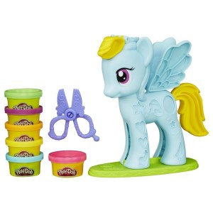 Play Doh Rainbow Dash My Little Pony Style Salon