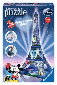 Eiffel Tower, Mickey & Minnie Edition