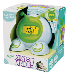 ok to wake clock