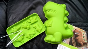 dino silicone molds haba