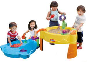 fisher price sand and water table