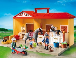 playmobil horse farm