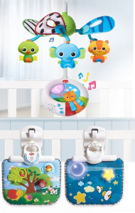 tiny love mobile + crib toy