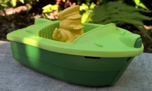 speed boat green toys