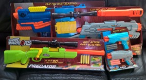 air warrior blasters