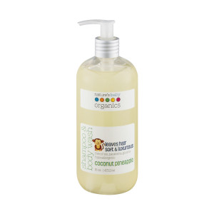 nature's organics shampoo and baby wash