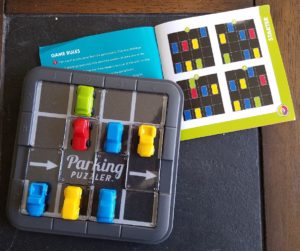 parking puzzler, smart games