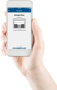 chamberlain garage door opener wifi