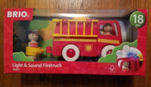 Brio light and sound firetruck