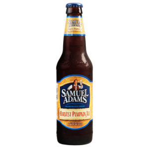 Sam Adams pumpkin spice ale