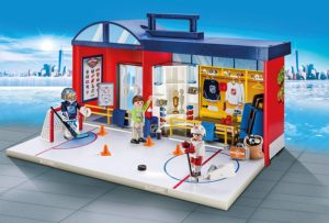 playmobil hockey arena
